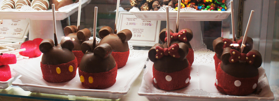 A mágica Confectionery do Magic Kingdom