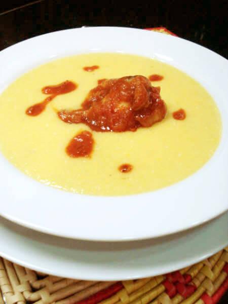 Sopa de Milho Verde - Sopa de Milho Verde cremosa e deliciosa