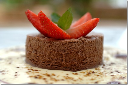 Torta de Chocolate - Torta fondant chocolate