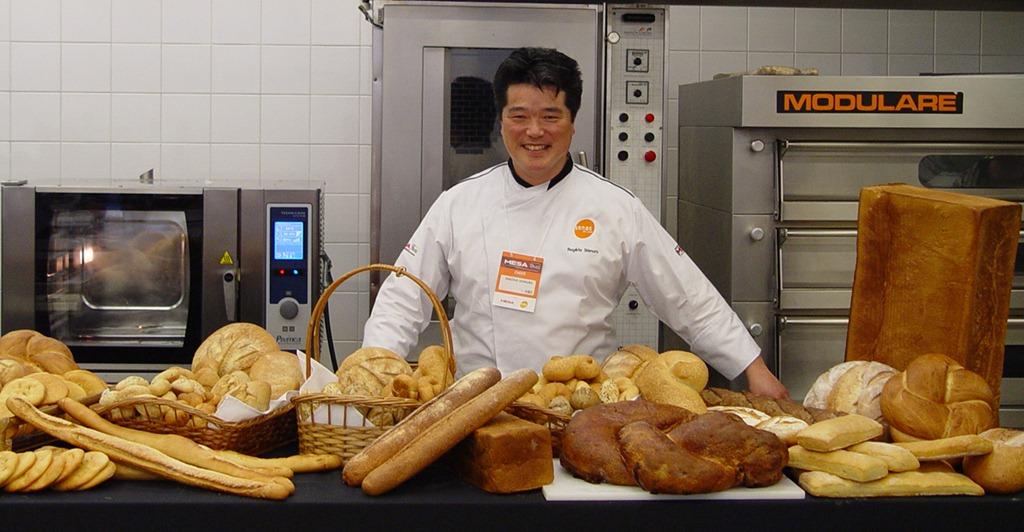 Rogerio Shimura foto Cuecas na Cozinha - Como fazer pão francês de padaria
