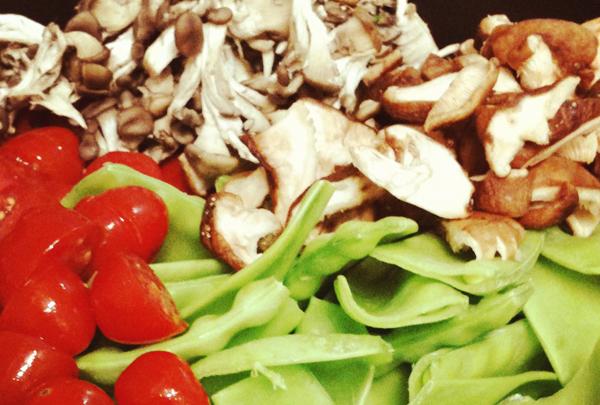 Couscous home - Receita de couscous marroquino com cogumelos