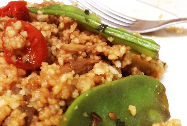 Couscous Post1 - Receita de couscous marroquino com cogumelos