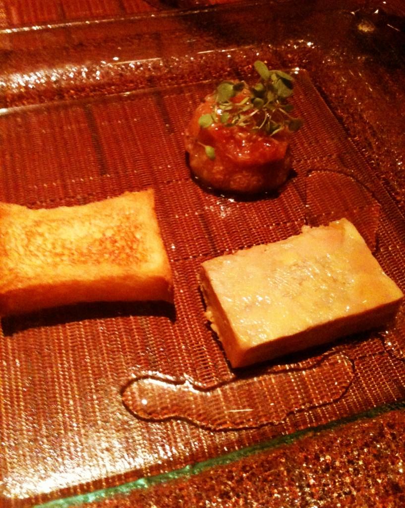 Foie gras figo e brioche 817x1024 - Canvas Bar & Restaurante - Hilton Morumbi