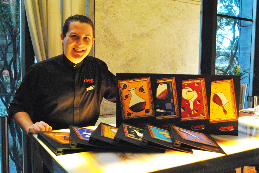 Sommelier Alan Lenk - Canvas Bar & Restaurante - Hilton Morumbi