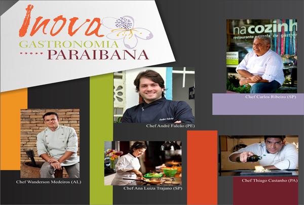 Inova Paraíba - Inova Gastronomia Paraibana