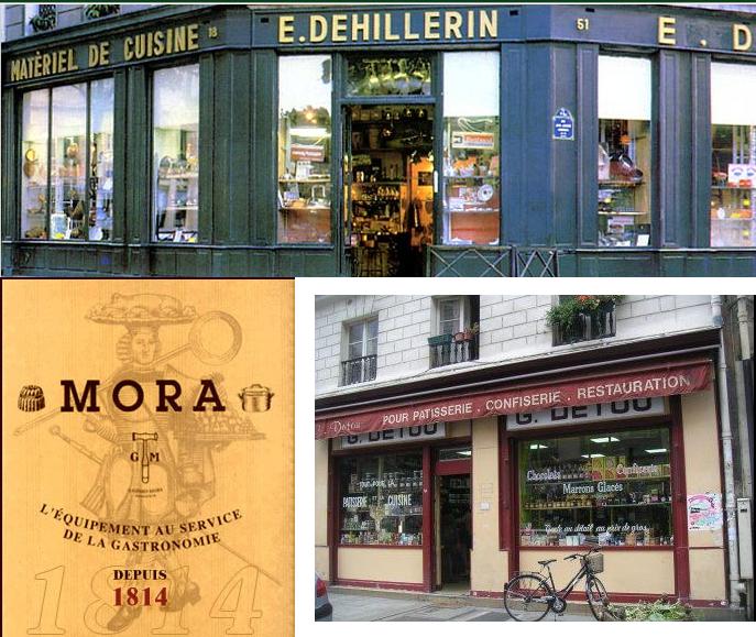 Lojas Paris - Rota da Confeitaria em Paris