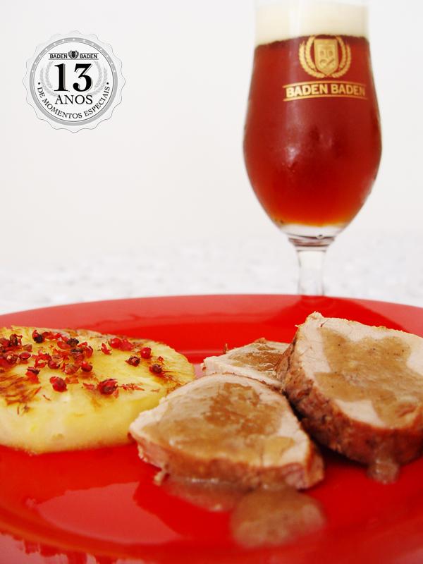 Mignon de Porco - Cervejas harmonizam com bons momentos!