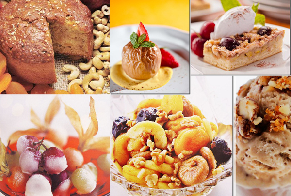 Sobremesas - 10 Sobremesas para o Ano Novo