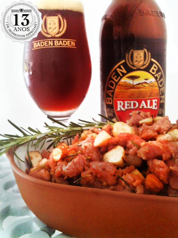 red ale Post - Linguiça e cerveja, sempre uma harmonização perfeita