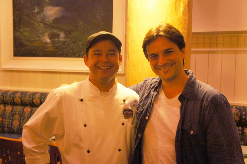 Chef Marco Chaves Alessander Guerra 1024x680 - Artist Point restaurante Disney