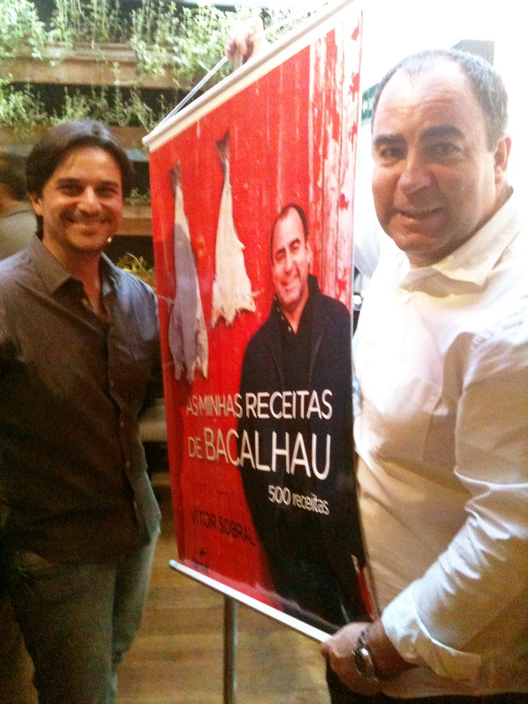 Alessander Guerra e Vitor Sobral 768x1024 - Livro As minhas receitas de Bacalhau: 500 receitas de Vítor Sobral