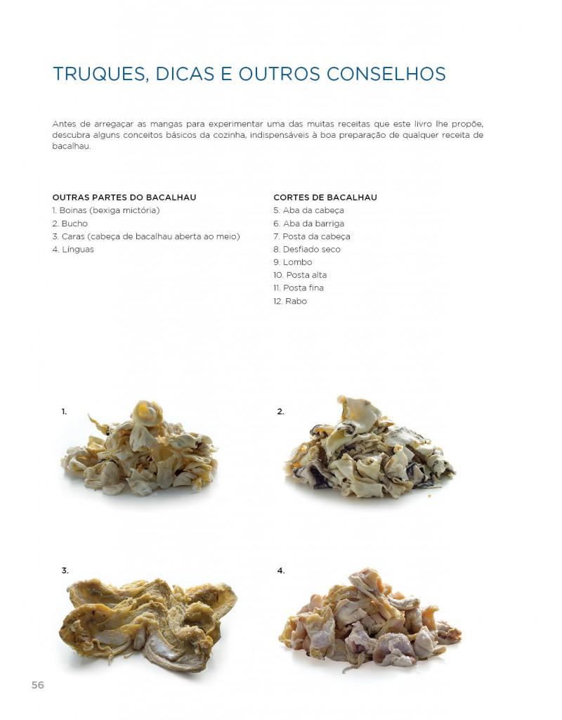 Cortes de Bacalhau 800x1024 - Livro As minhas receitas de Bacalhau: 500 receitas de Vítor Sobral