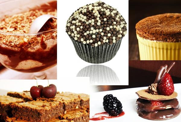 Sobremesas com chocolate Home - Receitas de Sobremesa de Chocolate