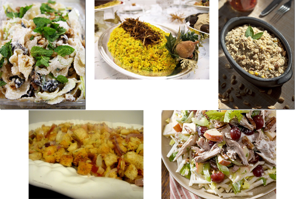 Saladas e Acompanhamentos - Receitas de Saladas e Acompanhamentos para o Natal