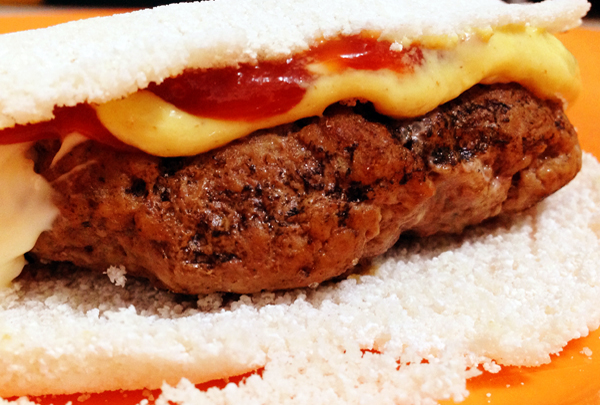 Sanduiche de Hamburguer diferente - Sanduíche de Hambúrguer diferente