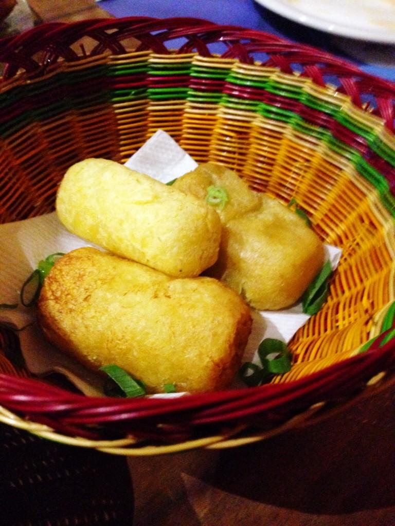 Carimañolas Choclinhos 768x1024 - Guanahaní bar e restaurante colombiano