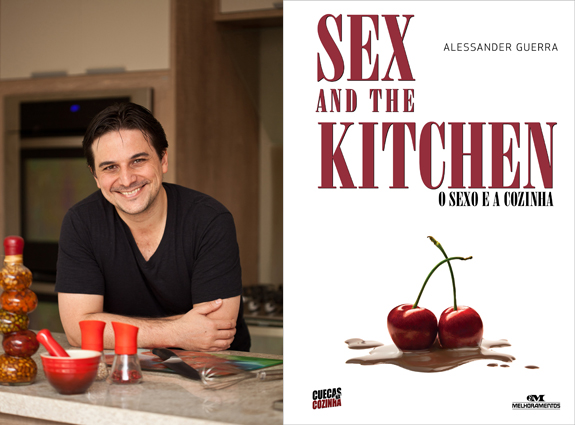 Ale Livro - Aula Menu Afrodisíaco Sex and the Kitchen com Sessão de Autógrafos