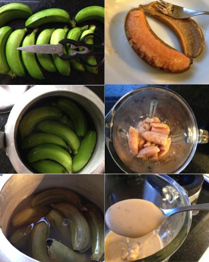 Biomassa de Banana Verde - Biomassa de Banana Verde
