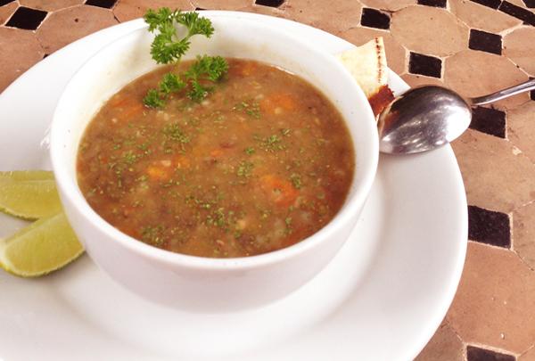 Resultado de imagem para sopa marroquina de cevada