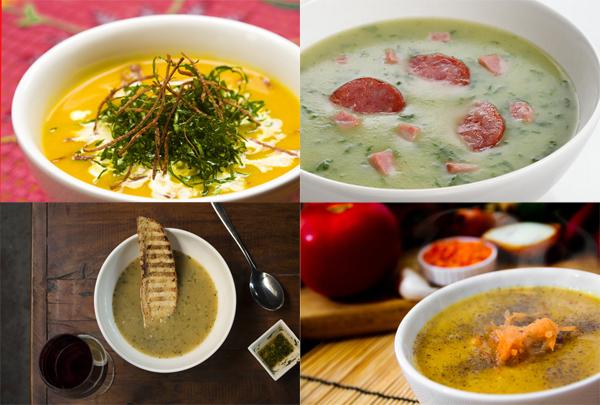 10 Receitas de Sopas Deliciosas