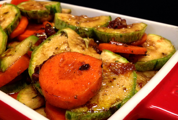 Receita saborosa de Legumes ao Forno