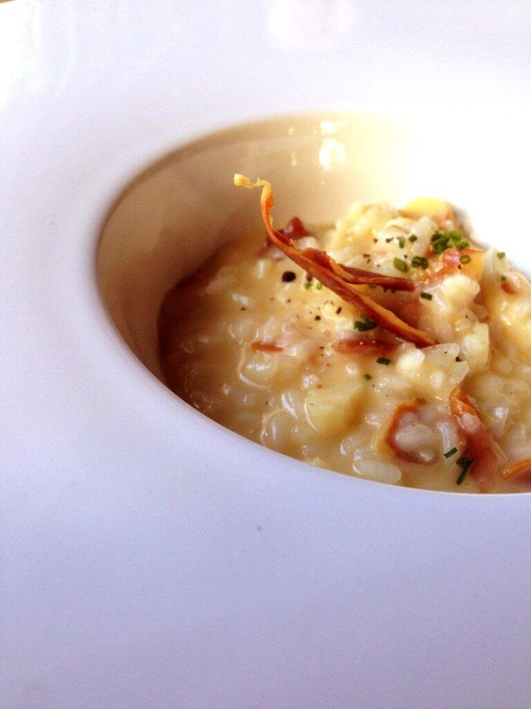 Risoto com Cuore de Palma e Prosciutto 768x1024 - Sensi Gastronomia