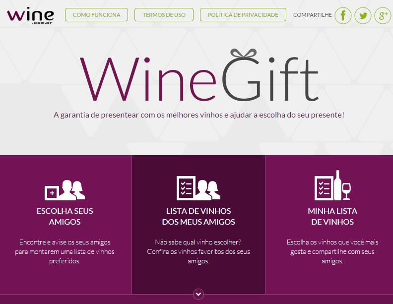 1 - WineGift - um app para momentos especiais