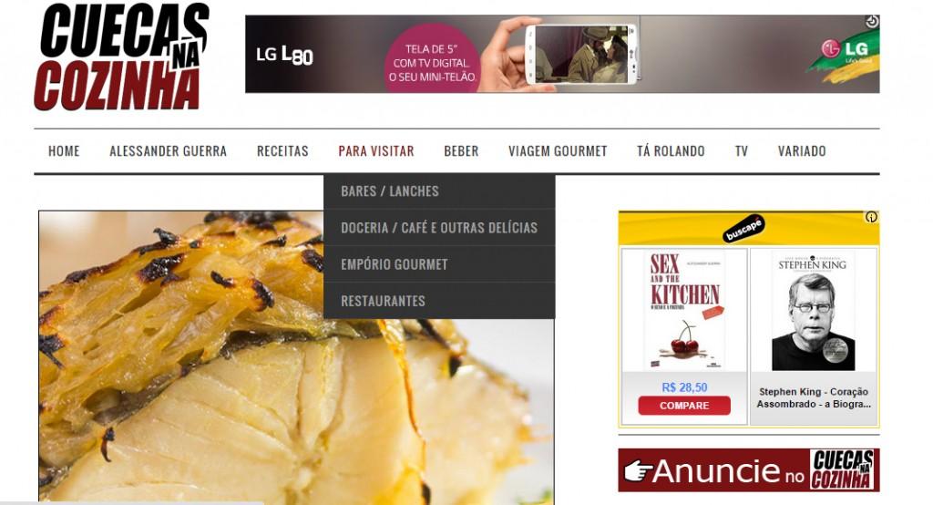 1 1024x554 - Nosso Site de Gastronomia de Cara Nova