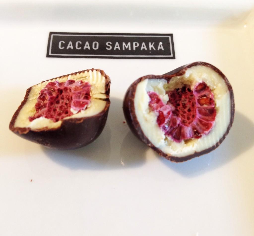 Cacao Sampaka Framboesa foto Cuecas na Cozinha 1024x951 - Cacao Sampaka chocolateria