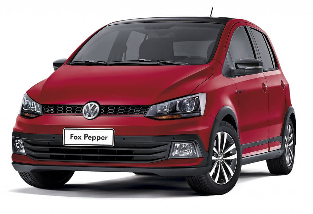 13 VW Novo Fox Pepper3 4 Frente Reb 1024x701 - Fox Pepper - O mais apimentado dos compactos