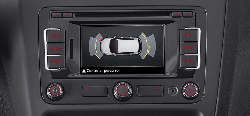6 Radio Touchscreen Sensor de Estacionamento1 - Fox Pepper - O mais apimentado dos compactos