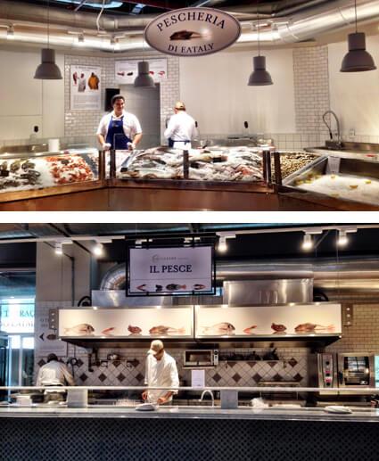 Eataly peixes foto Cuecas na Cozinha - Eataly São Paulo