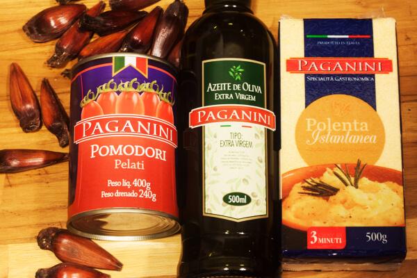 Paganini - Polenta com Tomates e Pinhões