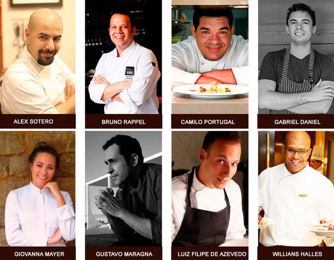 Sirha Rio de Janeiro Chefs Candidatos Bocuse d´Or - Sirha Rio