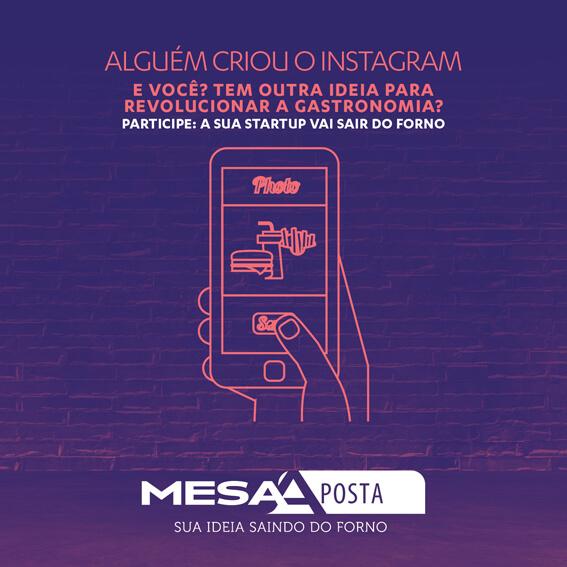 Campanha Mesaposta instagram - Mesa Aposta novidade na Semana Mesa SP