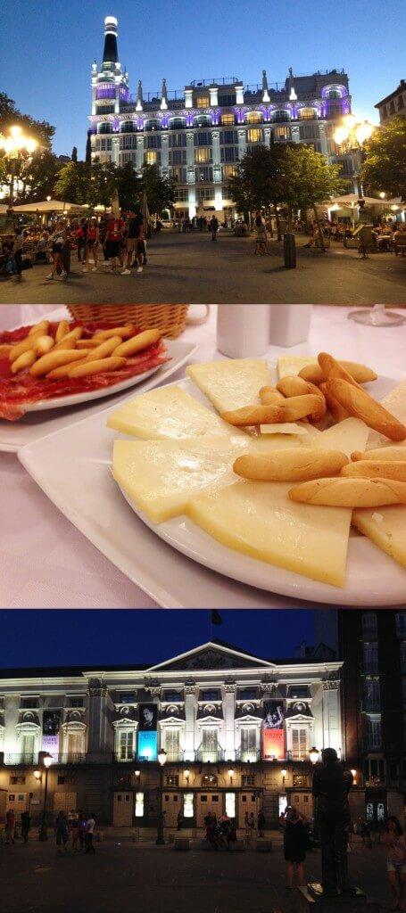 Plaza de Santa Ana Madri foto Cuecas na Cozinha 455x1024 - Onde Comer em Madri