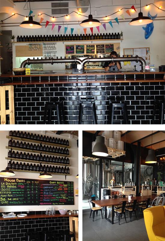 Barcelona BlackLab foto Cuecas na Cozinha - Onde Comer em Barcelona