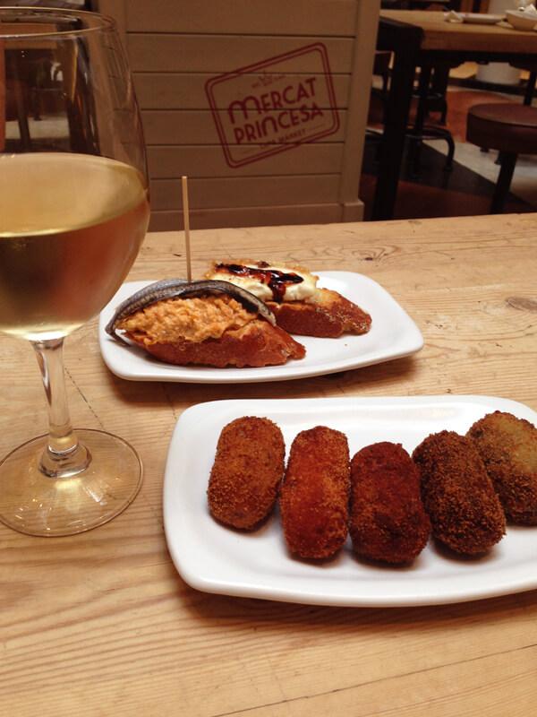 Barcelona Mercat Princesa2 foto Cuecas na Cozinha1 - Onde Comer em Barcelona