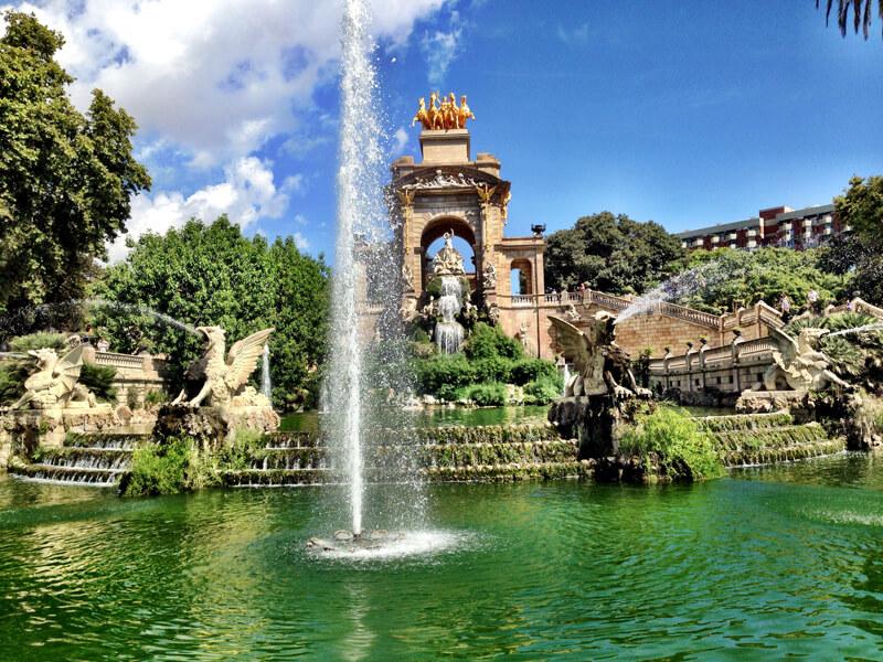 Barcelona Parque de la Ciutadela foto Cuecas na Cozinha - Onde Comer em Barcelona