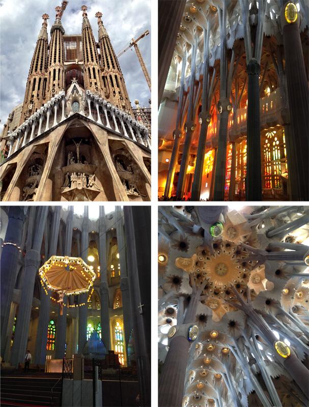 Barcelona Sagrada Família foto Cuecas na Cozinha - Onde Comer em Barcelona
