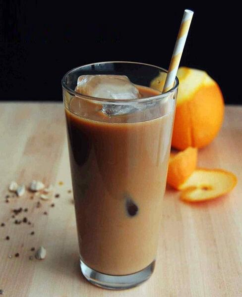 Drinks Gelados com Café barista Dga Laranja - Drinks gelados com café