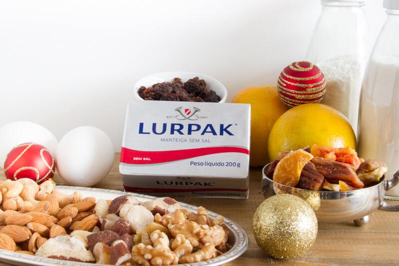 Lurpak Ingredientes - Torta Natalina