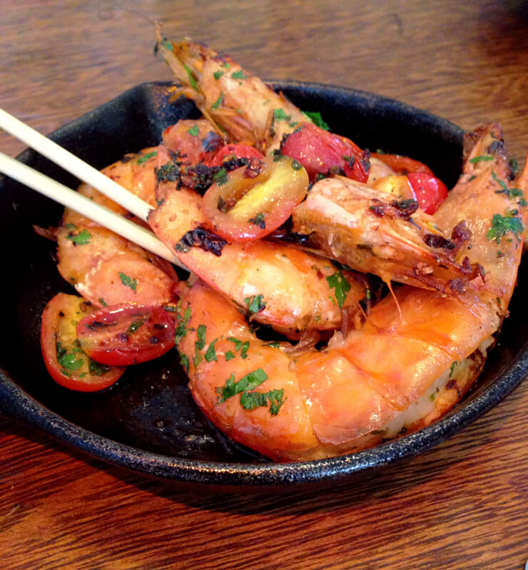 Restaurante Lambe-Lambe_frigideira de camarão