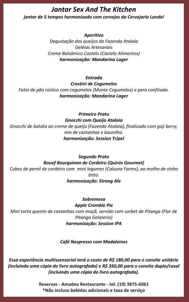 Experiência Gastronômica _Cuecas na Cozinha