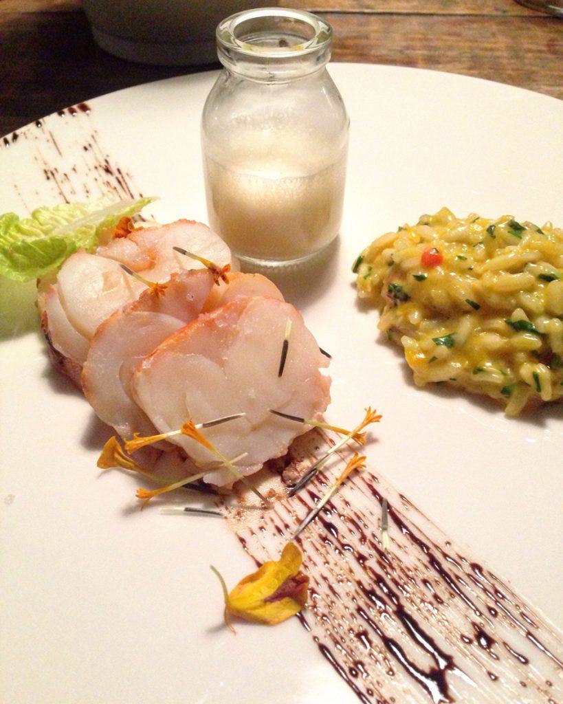 Restaurante Tereze _Lagosta com risoto de moqueca_foto Cuecas na Cozinha