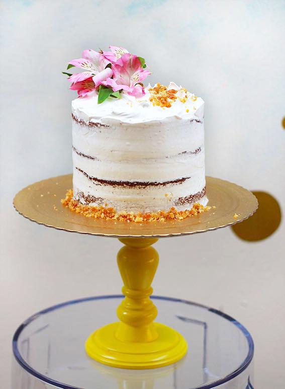 Como fazer um bolo perfeito _Espatulado