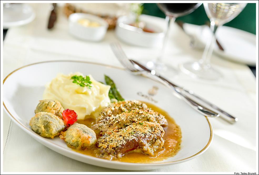 """Ca´d´oro Hotel e Restaurante _ Anitra alla """"Colleoni"""""""