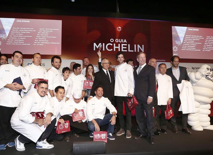 Restaurantes premiados no Guia Michelin