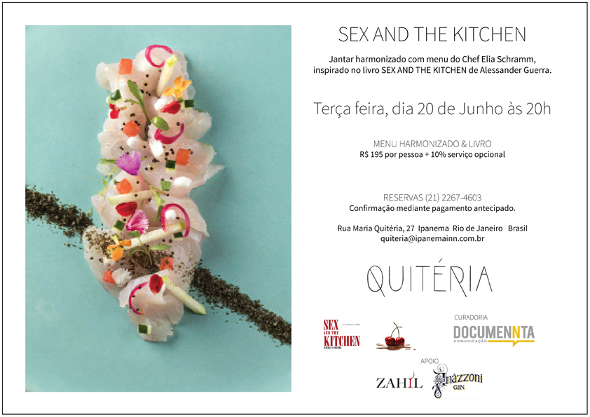 Romance Sex and the Kitchen inspira eventos no Rio