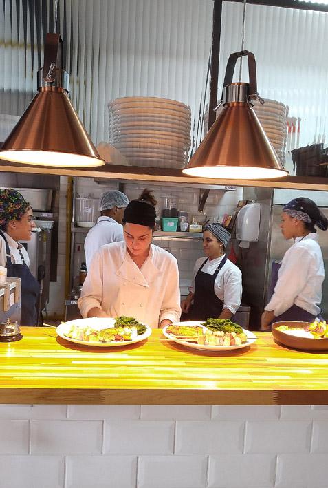 Kith Restaurante _Cozinha